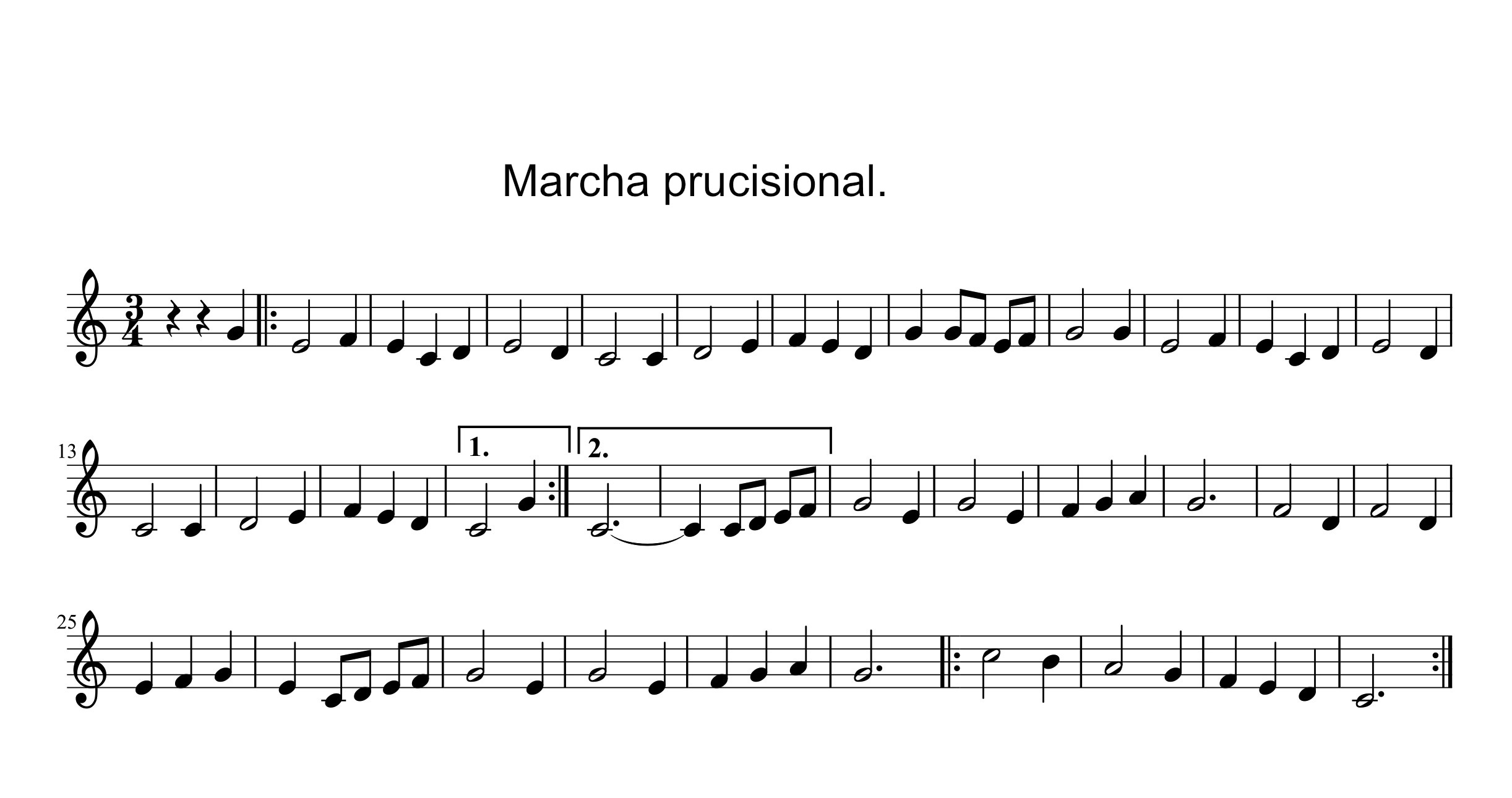 Marcha prucisional