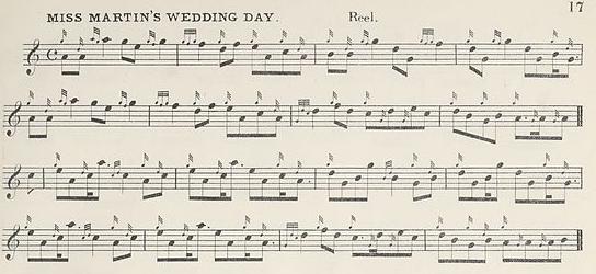 Miss Martin's Wedding Day