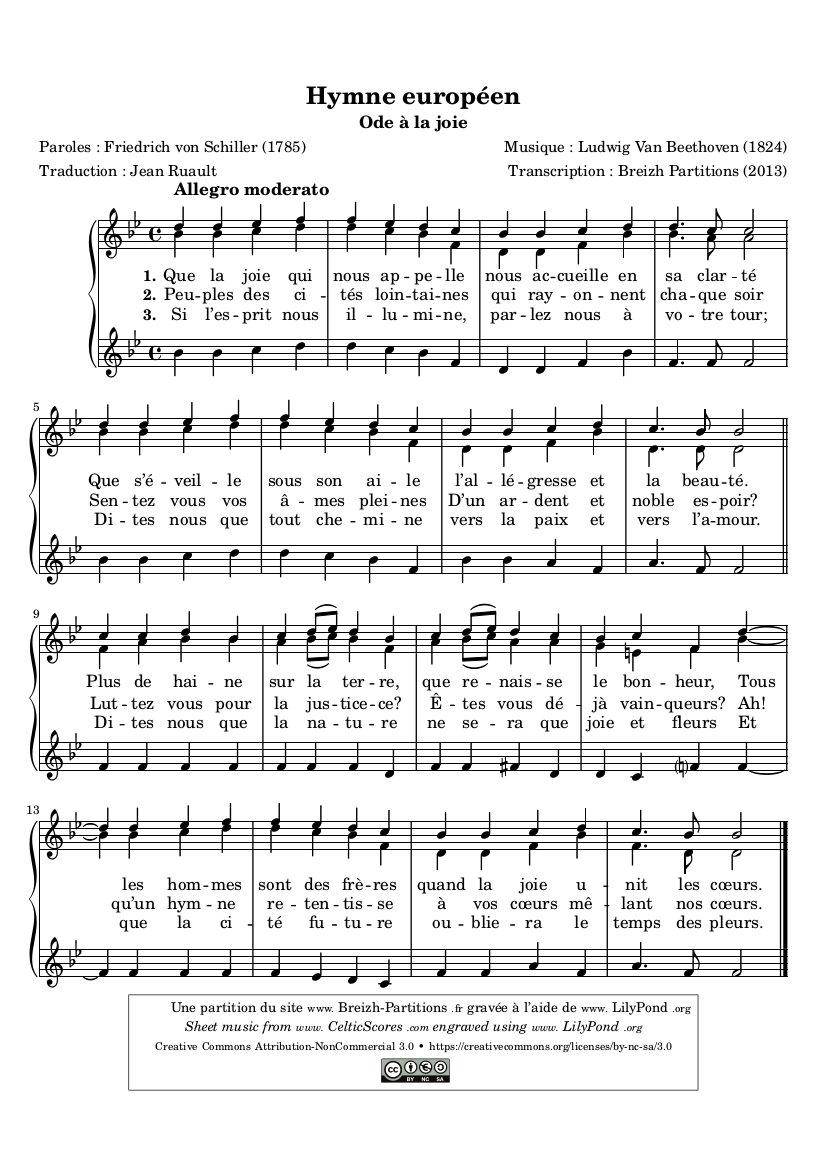 Himno Europeo (Oda a la Alegría)